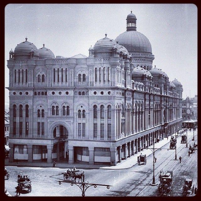 Queen Victoria Building taken c.1900