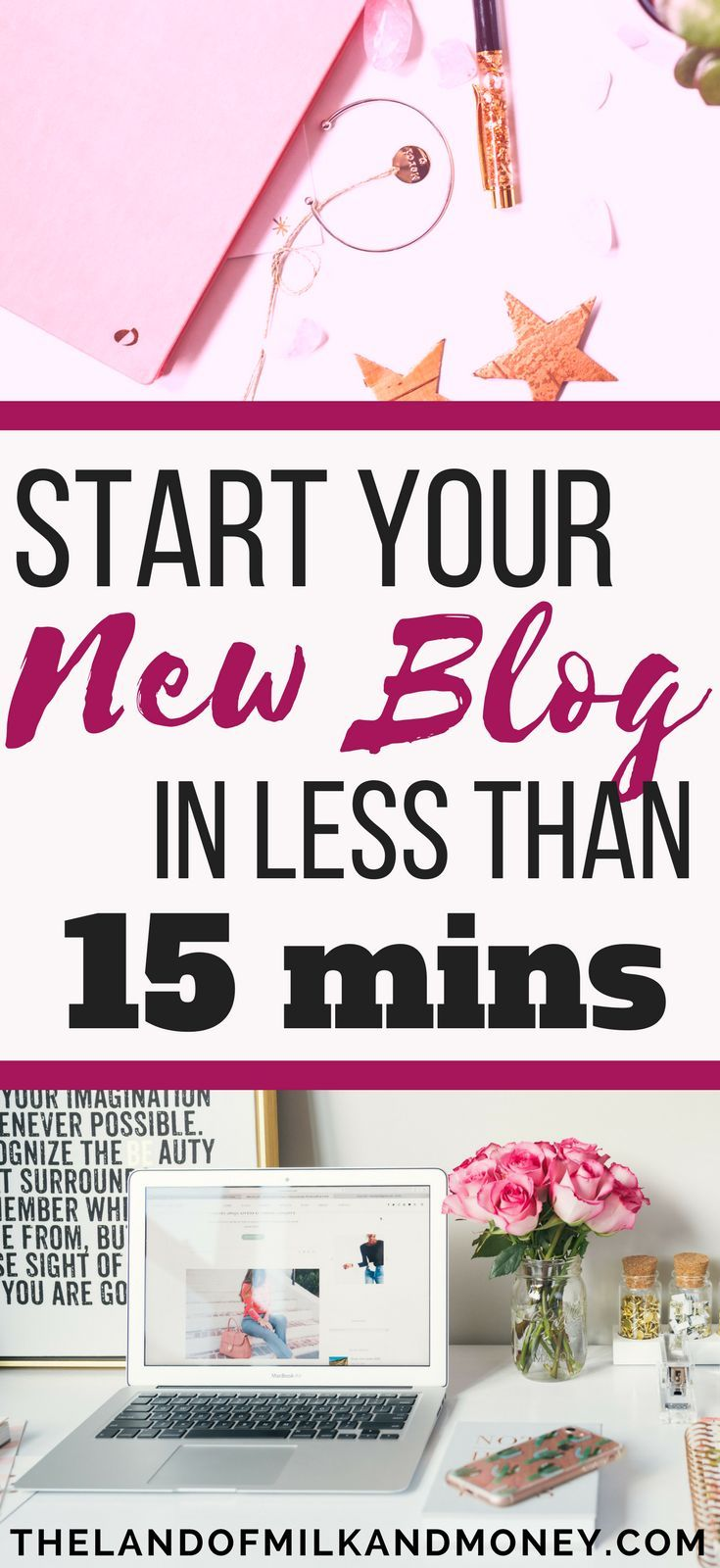 This guide makes it SO EASY for beginners to start a blog on WordPress! I never knew it was this quick - and cheap! This checklist is amazing, I can't wait to start blogging!