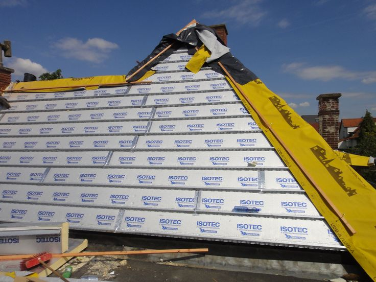 Alweer een afgewerkt dak door Isotec.