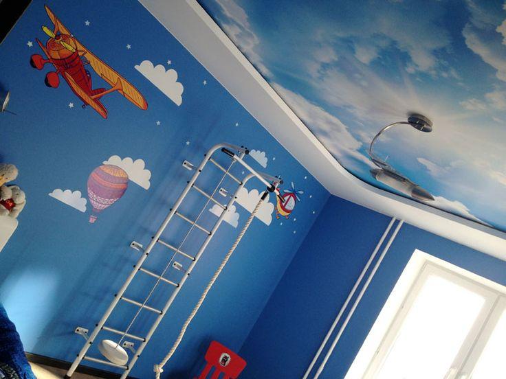 декор комнаты мальчика студией 33dodo