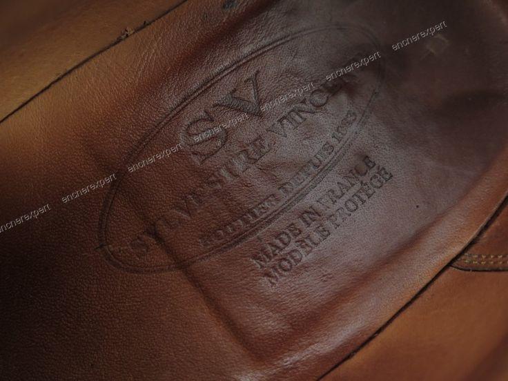 Chaussures sylvestre vincent jm weston 593 derby - Authenticité garantie - Visible en boutique