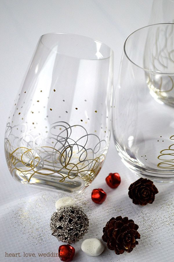 25 best ideas about sharpie glass on pinterest sharpie for How to decorate wine glasses with sharpies