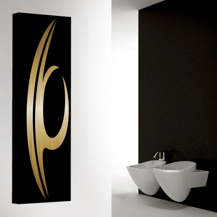 QUEEN Ein Wahres Erscheinung Vertikale Wohnzimmer Heizkörper Mit Stil,  Lieferbar Mit LED Beleuchtung.