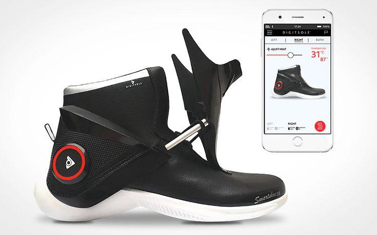 Digitsole Smartshoe – selvsnørende sneakers med indbygget varme