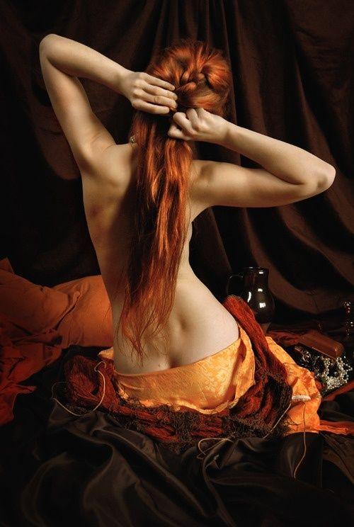 I'd beautiful redhead woman gorgeous slut slobbering