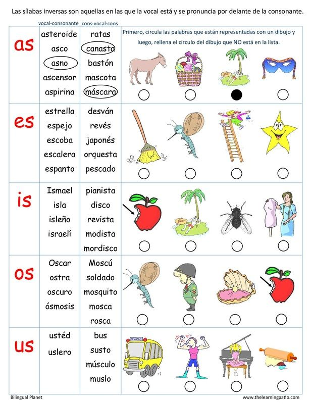 Sílabas inversas-Charts,evaluation pages and center cards. (36 pages) Under…
