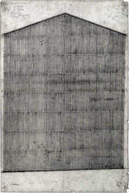 Peter Zumthor's Haldenstein studio, 1986. Via, and previously, 2, 3.