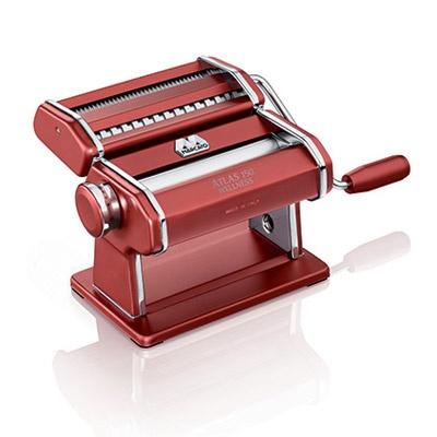 Marcato Atlas 150 Wellness Pasta Machine - red
