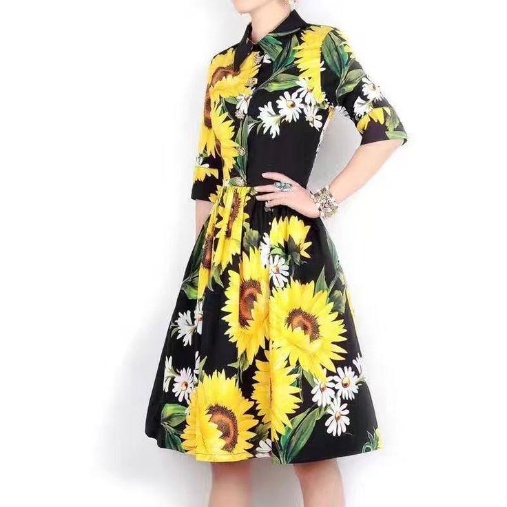 Модное платье от известных дизайнеров D and G