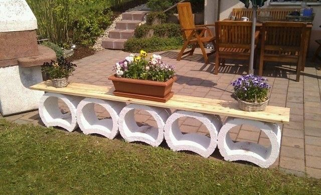 17 best images about garten on pinterest gardens diy for Garten bank idee
