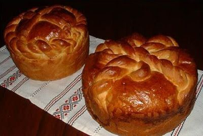 Ukrainian cooking: Ukrainian easter bread