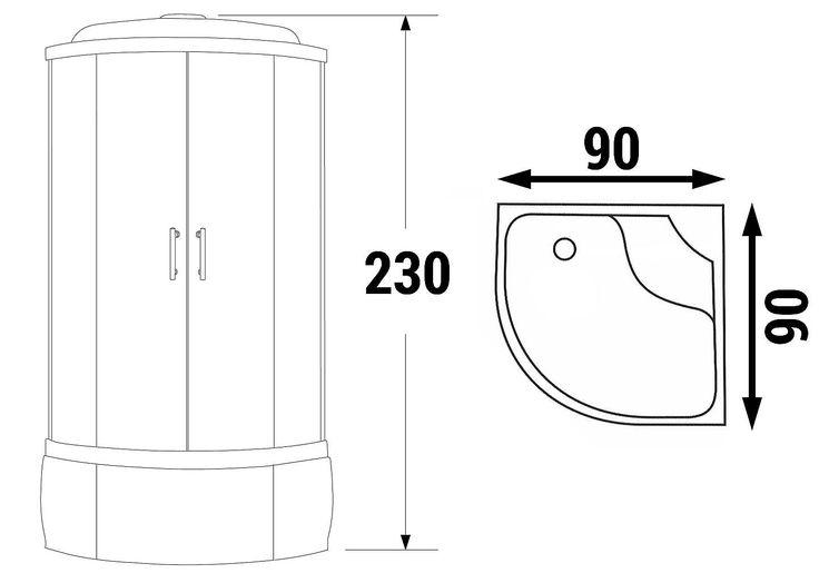 Inredning duschhörnor 80×80 : 1000+ ideas about Dusche 90x90 on Pinterest | Duschabtrennung glas ...