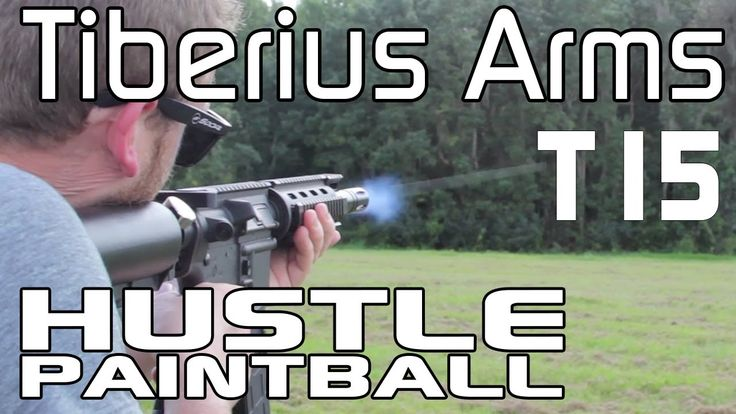 Tiberius Arms T15 (Magfed FSR Paintball Gun) First Look at PSP World Cup by HustlePaintball.com - YouTube