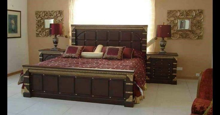 Modern Chiniot Furniture Design 2018 Latest Double Bed Designs In Pakistan Doub Modern Chinio Bedroom Furniture Design Bed Furniture Design Bed Interior
