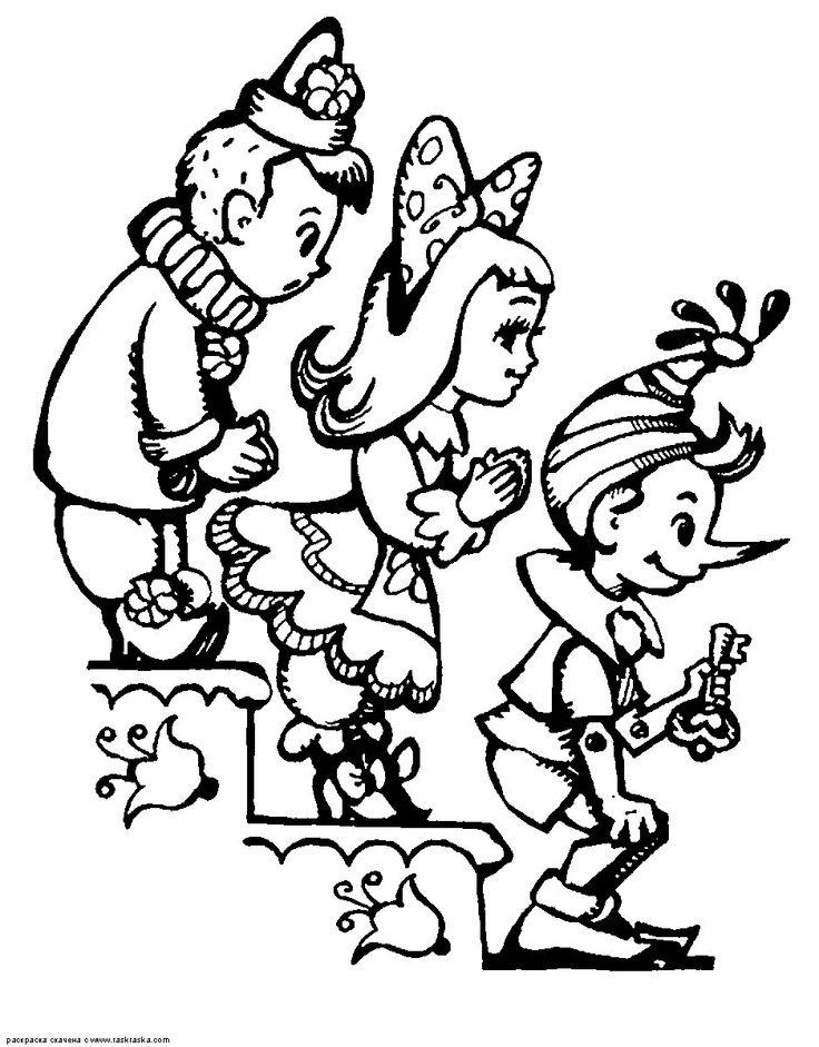 55 best pinnoccio images on Pinterest | Pinocchio, Coloring books ...