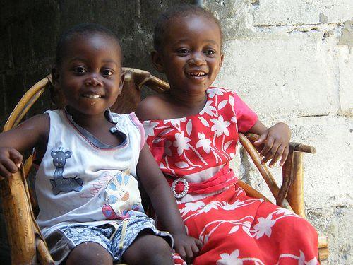 Cute Zanzibari kids