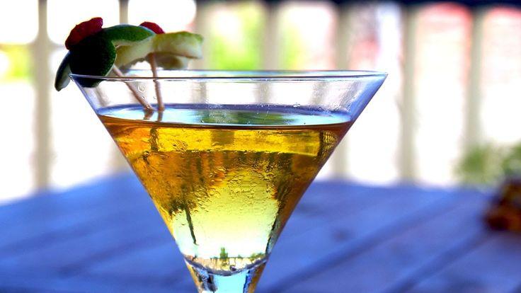 How To Make Frangelina - A Hazelnut And Sweet Lime Cocktail