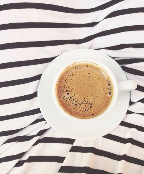 Coffee Stripes Yes Please