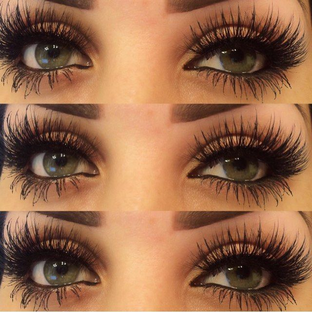 29a5a90587a MYKONOS Lashes REAL 3D MINK STRIP Lilly Lashes Siberian Mink in 2019   Made    Makeup, Lashes, Makeup looks