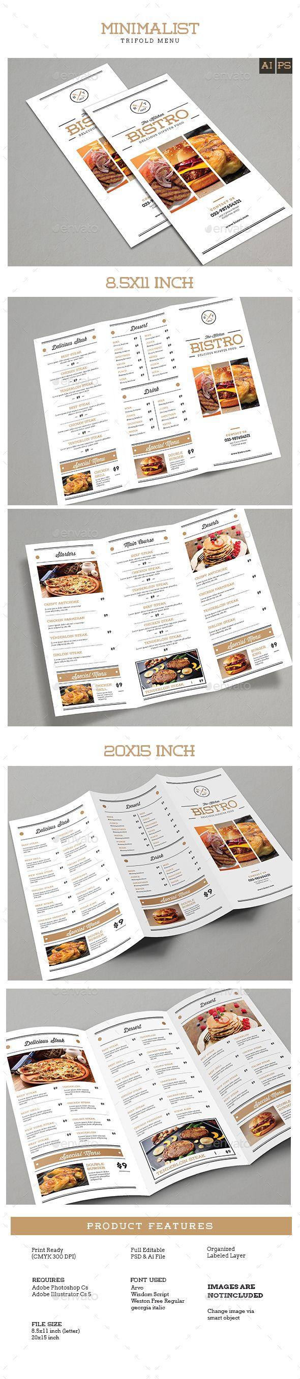 Best 25 Free menu templates ideas – Free Printable Restaurant Menus