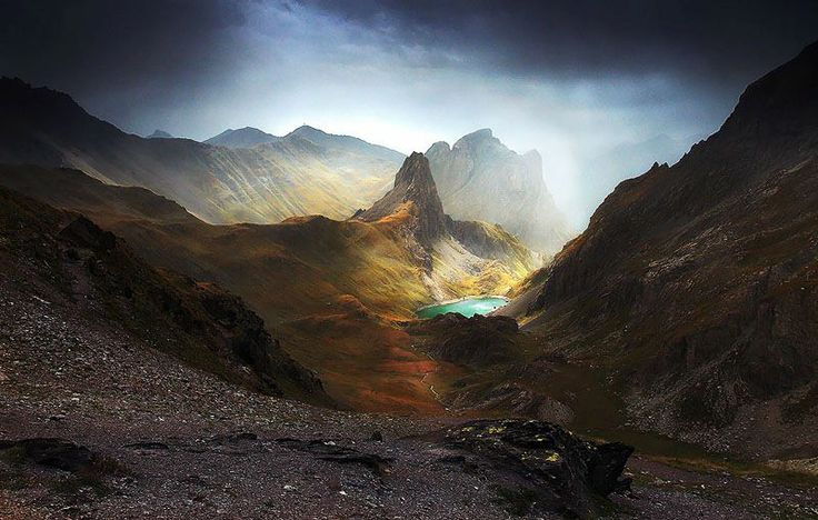 Cerce Valley - French Alps  Photo by Alexandre Deschaumes  http://500px.com/alexandredeschaumes