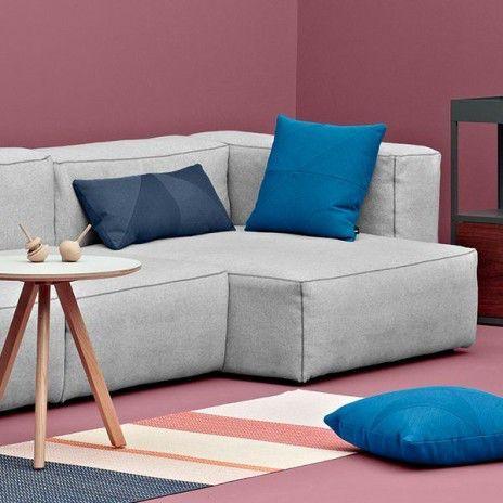 MAGS SOFA SOFT, mit Inverted Nähten, Moduleinheiten (Gewebe - Version): erstellen Sie Ihre eigenen sofa, HAY