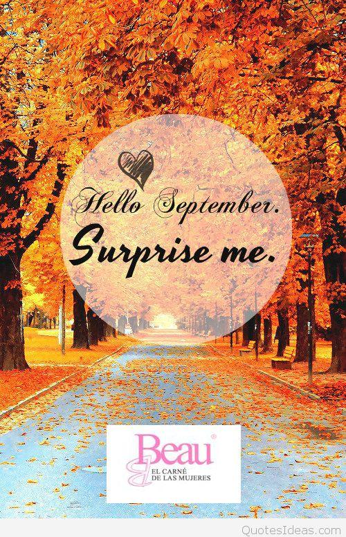 ¡¡Bienvenido #septiembre!! #bbeau