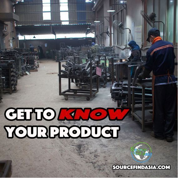 Sourcing Tip: It's important to take the time to fully understand how your product is manufactured. Spend extended periods of time in their facilities asking questions and studying how they make your product. How can you tell a factory what's wrong with the product if YOU don't know how to make it? #business #crowdfunding #manufacturing #machinist #machining #entrepreneurs #amazonfba #amazonseller #lifestyle#successful#success #goal #amazing #leader #leadership #youngentrepreneur #marketing…