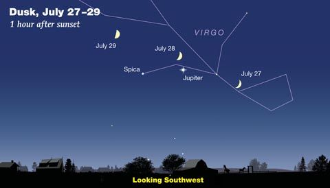 Jupiter and Saturn are easy to spot in the evening sky, as you'll discover in July's fun and informative astronomy podcast. The post Tour July s Sky: Find Jupiter, Saturn & More appeared first on Sky & Telescope.