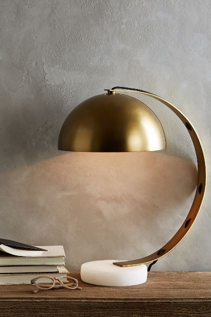 Marble Task Lamp #anthrofave