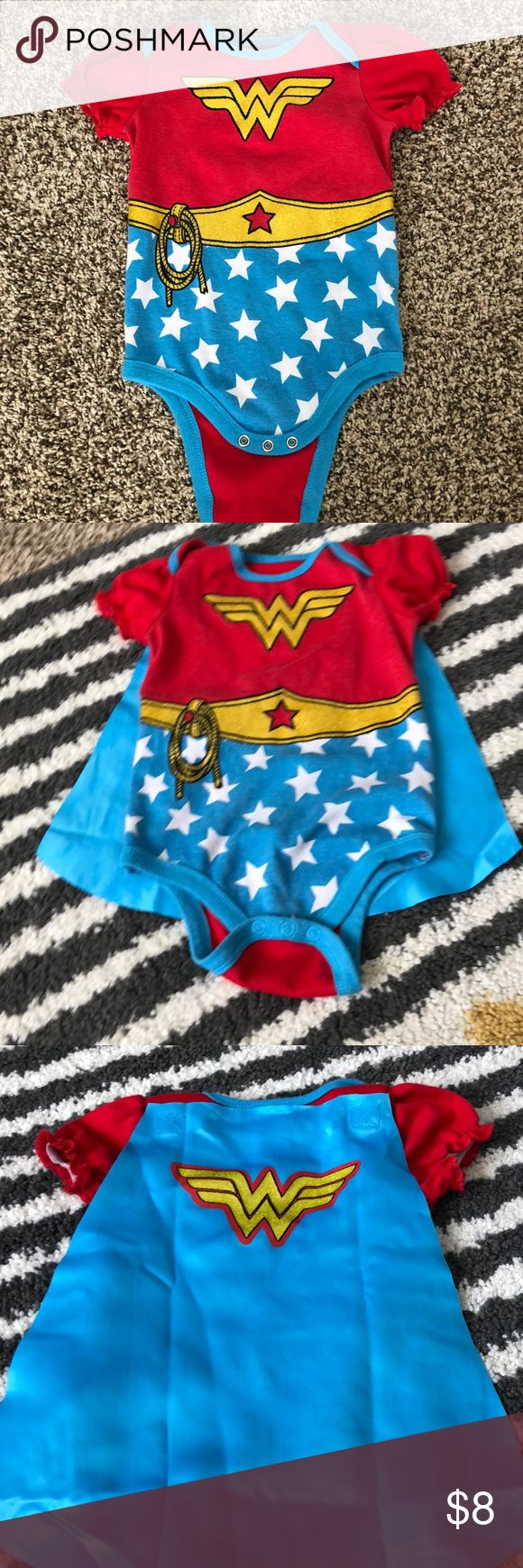 Wonder Woman onesie Super cute Wonder Woman outfit for baby! Costumes Superhero