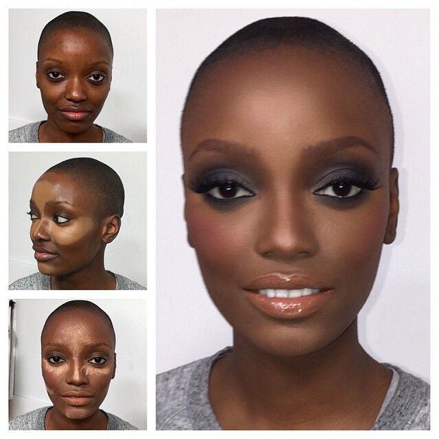 1000+ Ideas About Contouring Dark Skin On Pinterest