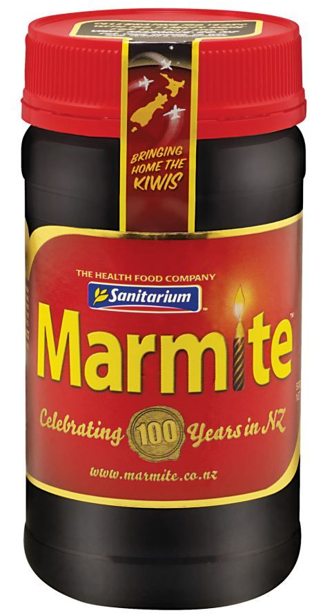 Earthquake leaves New Zealand facing a Marmite shortage... we have had to eat vegemite instead!