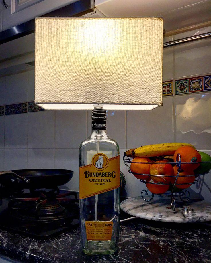 #bundyrum #lamp #bundabergrum #rum #stayfrostymancavestuff #Wagga #waggawagga #mancave #rumlamp #upcycle #makeit #homemade #handmade #manshed #bar #homebar #diy #shutupandtakemymoney