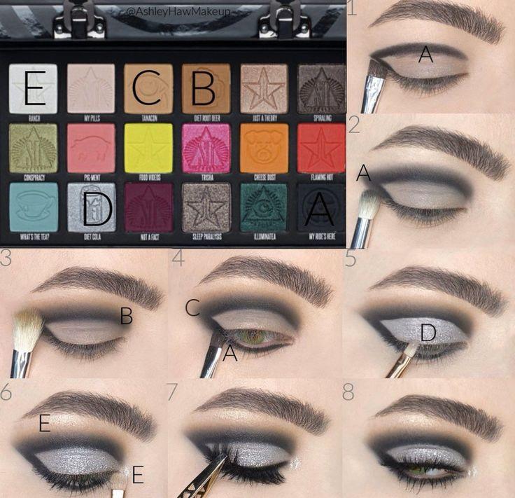 jeffree star makeup looks in 2020   Eye makeup designs ...