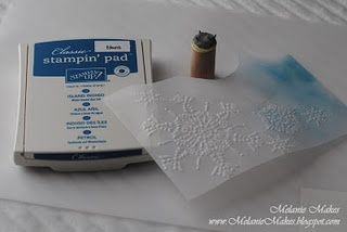 Using Ink on Vellum. A couple good tips in here.: Cards Ideas, Embossing Folder, Vellum Paper, Challenges Blog, Fantabul Cricut, Stamps On Vellum, Cricut Challenges, Cards Techniques, Paper Crafts