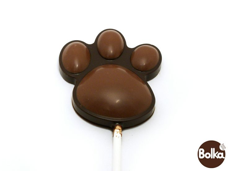 Chocolate lollipop/csokoládé nyalókák (paw/tappancs)