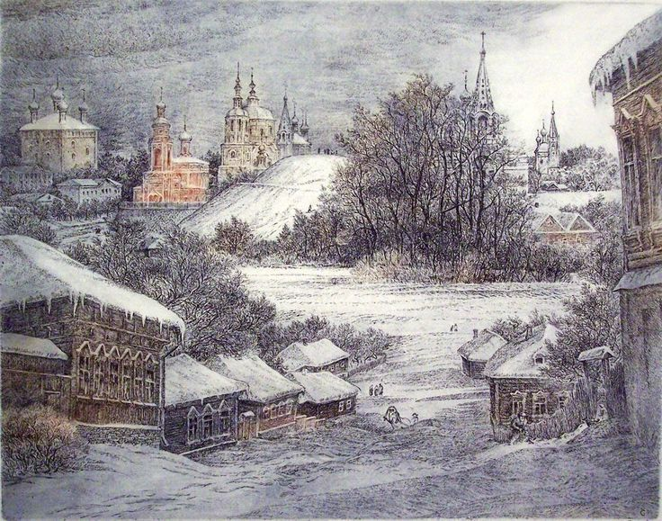 Виталий Губарев.Колокольный звон зима