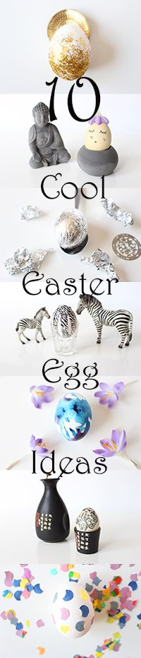 10 Cool Easter Egg Ideas. 10 tolle Ideen für Ostereier. Easy ...