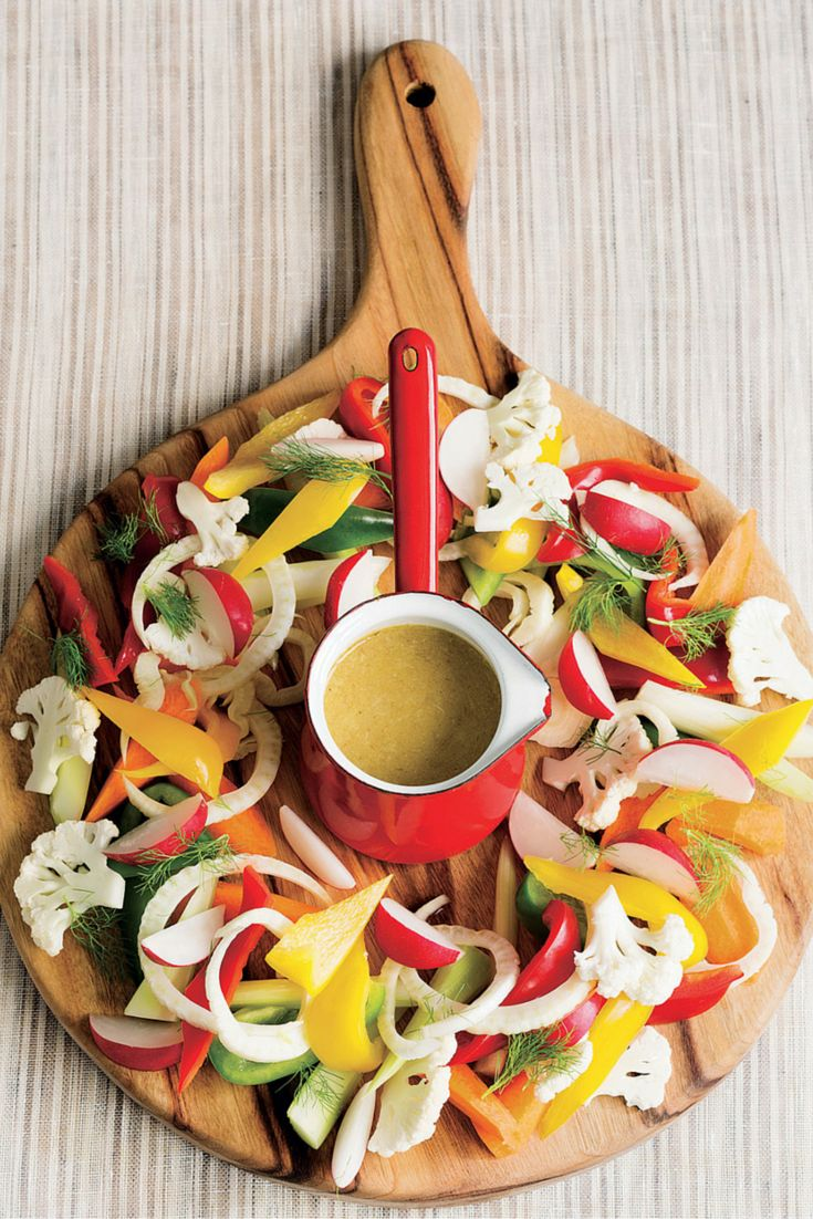Italian bagna cauda. Poh shows how we can all love anchovies.