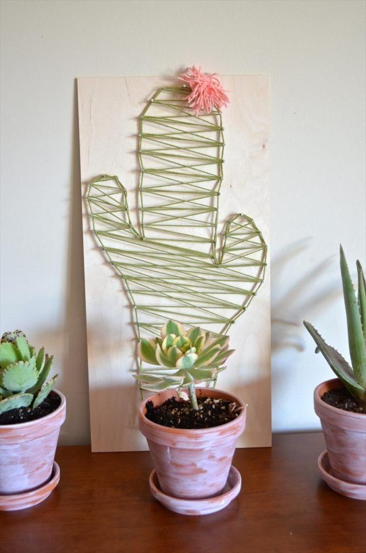 Top 43 DIY Cactus Craft Ideas   DIY to Make