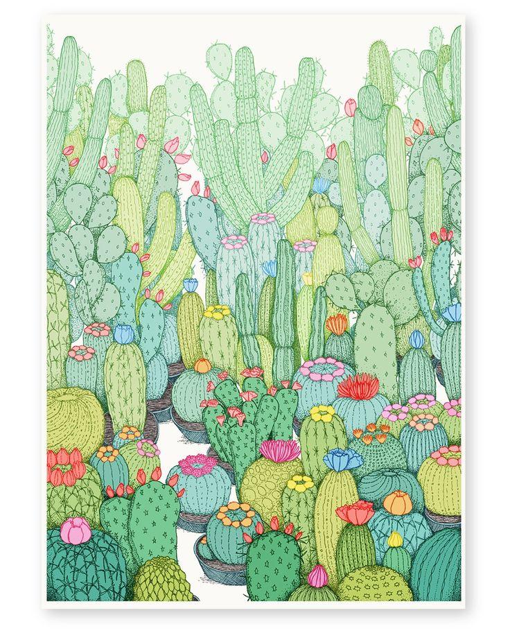 Spring Cacti