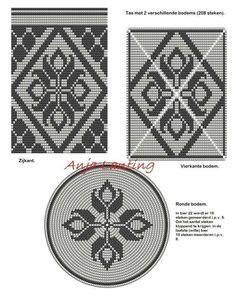 Wayuu Mochila pattern bottom