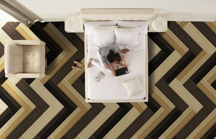 Herringbone Pattern By Interface Carpet Home Pinterest