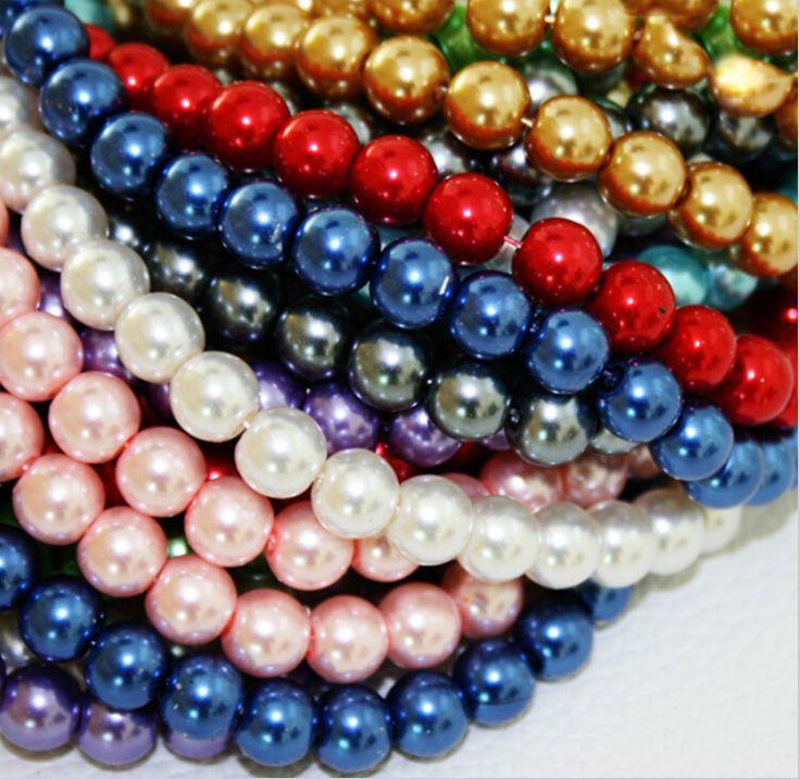 200 unids/lote 4 mm perla cristal Chunky mixta DIY joyería China accesorios para pulseras piezas para hacer la joyería(China (Mainland))