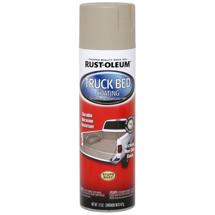 Rust-Oleum Automotive 15 oz. Tan Truck Bed Coating Spray Paint (Case of 6)