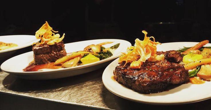 Filet mignon & rib eye steak au restaurant mkt Centre-ville de Montréal. RSVP (514)849-2044
