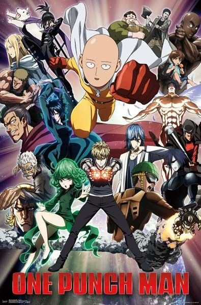 One Punch Man - Key Art 2 Poster (945) | Impact Posters - One Punch Man - Key Art 2 Poster (945) | Popcultcha