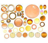 Lenagold - Клипарт - Желтые и оранжевые круги и шары