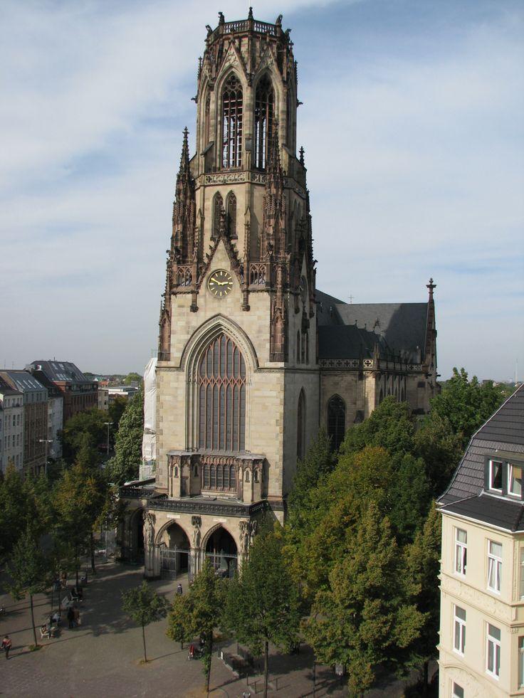 Agneskirche vom Schlafzimmer einsehbar. Wundervoll